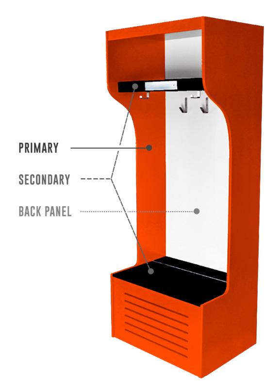 Custom Color Pro Locker