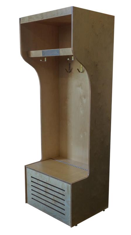 Unfinished Pro Locker